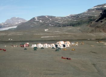 Camp at Sødalen